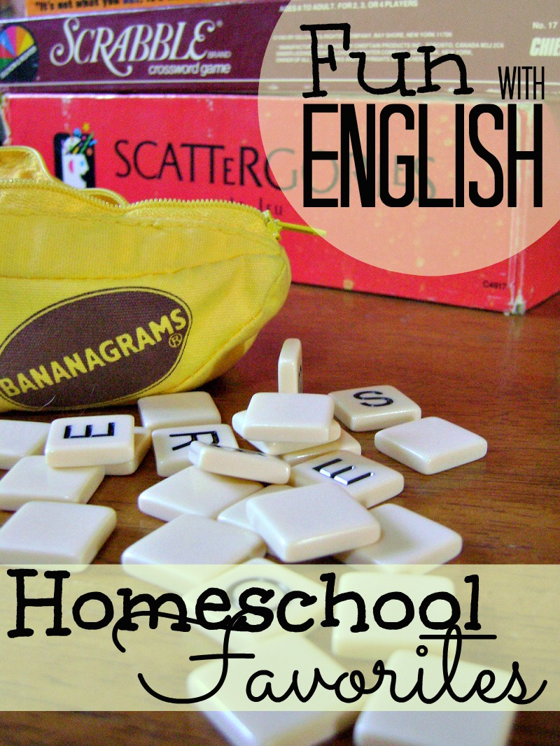 Looking for some fun ways to cover your English lesson? Or a family game that builds vocabulary? Check out this awesome list of resources. Bananagrams is one of our favorites!