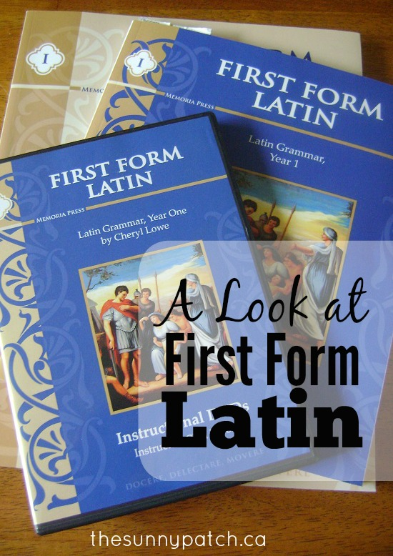 First Form Latin