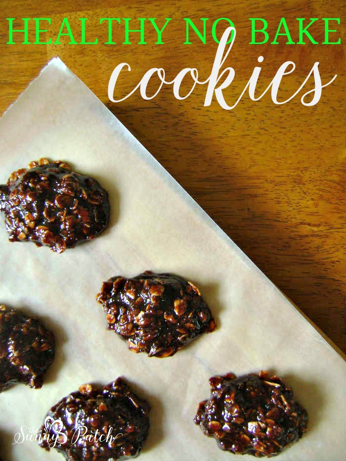 Love no bake cookies? Try this healthy no bake oatmeal cookie recipe. Less sugar and some fun alternative ingredients make this a great easy recipe.