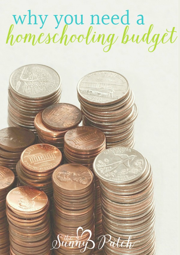 Important reasons for setting a homeschooling budget - it's an important step in your yearly homeschool planning.