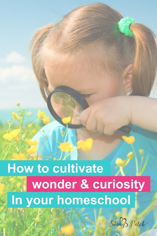 Learning how to cultivate wonder & curiosity in your homeschool doesn't have to be difficult. Take time to create moments to explore with these simple tips and ideas.