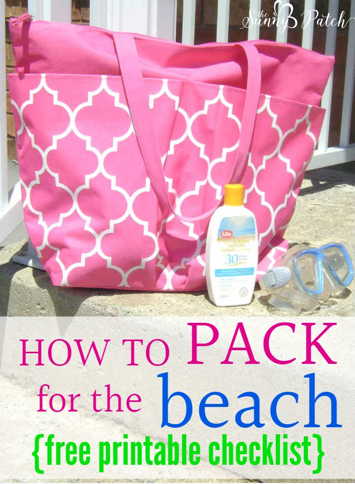 Spending a day at the beach is the perfect way to relax. Check out these tips that will show you how to pack for the beach & includes a packing checklist.