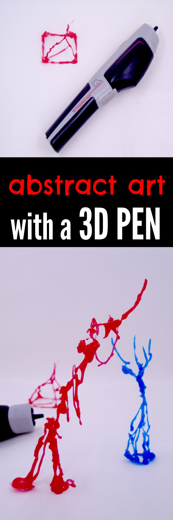 Learn about abstract art and create your own with a cool 3D Pen. Take a look at how we use the AtmosFlare 3D Pen to learn about abstract art.