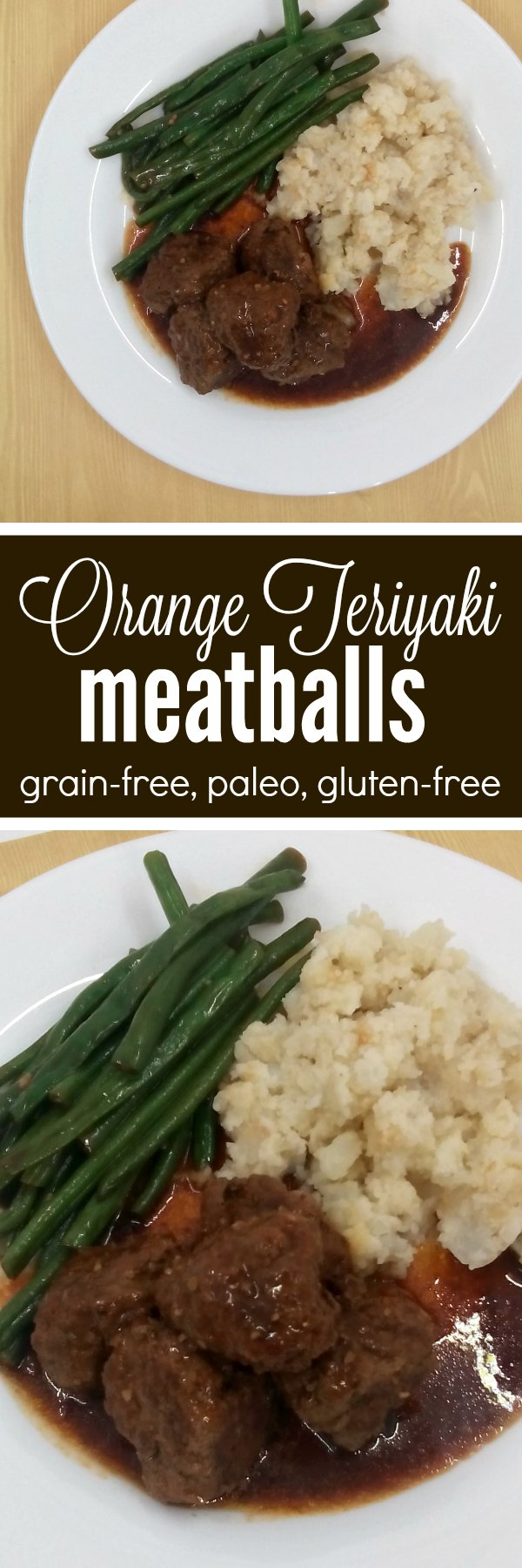Grain-free orange teriyaki meatballs are a perfect simple and quick family dinner. Keep some meatballs in your freezer and an Instant Pot on your counter for this quick and easy family meal.