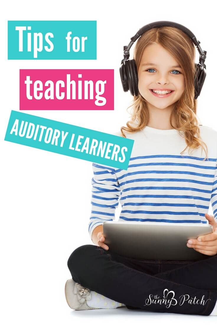 Teaching auditory learners is easy with these simple auditory learning tips and activities! And take a look at one of our favorite resources - Heirloom Audio Productions.