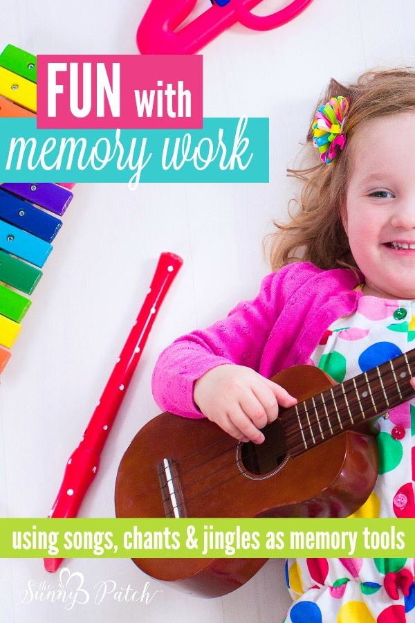 Help kids memorize by using songs for memory work. Try these ideas and resources for using songs, chants, and jingles to memorize anything!