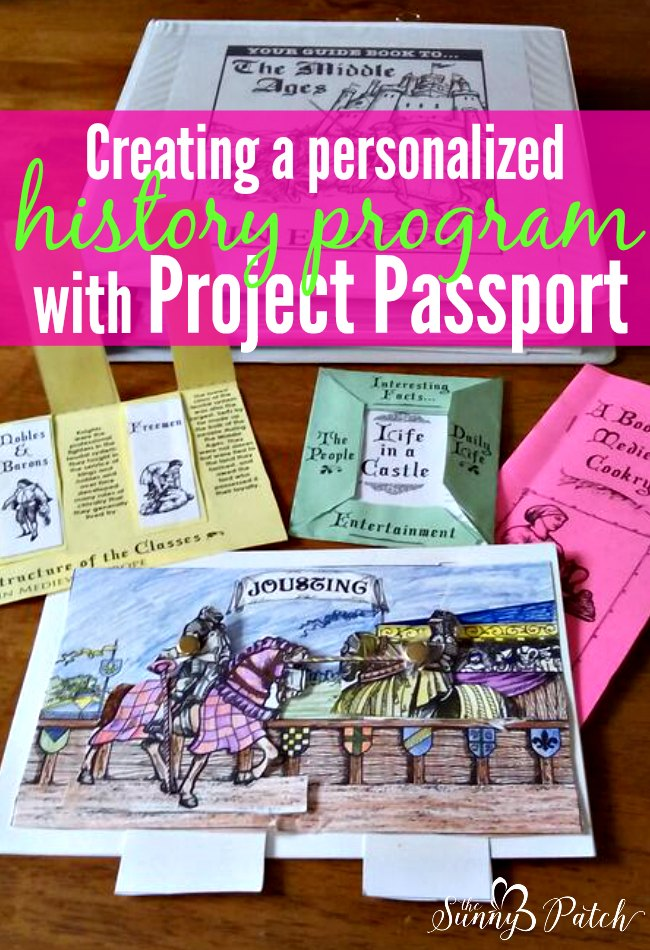 It's easy to use Project Passport from Home School in the Woods to create a personalized history program for your homeschooled kids. I'll show you exactly how we created our own homeschool history program.