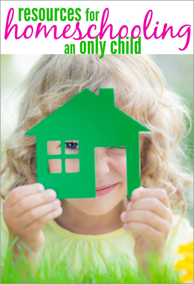 Wondering if you should take the plunge and homeschool your only child?. I have a fabulous list of books and resources for homeschooling an only child.