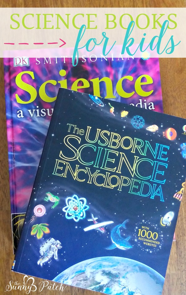 science books for kids -I have lots of great suggestions for read aloud books for kids but I realized I haven't shared many of our favorite nonfiction books. And, with a kid who actually prefers piles of books about animals and other science topics, it only makes sense that I should share our favorite science books for kids.