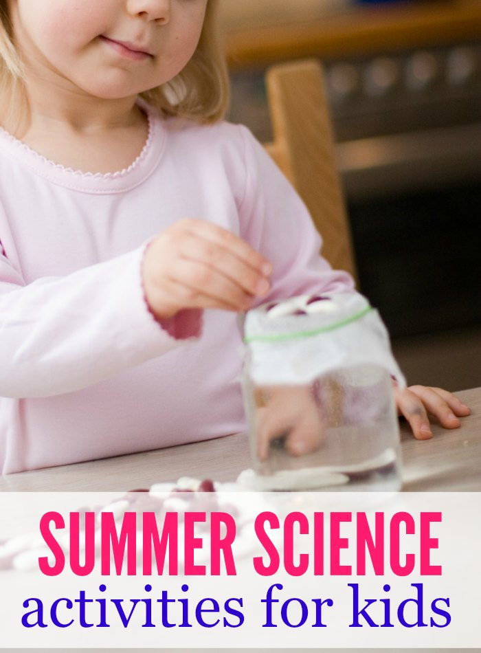 Keep your kids learning during summer break with these fun summer science activities for kids. These projects for kids are wet & messy but seriously fun!