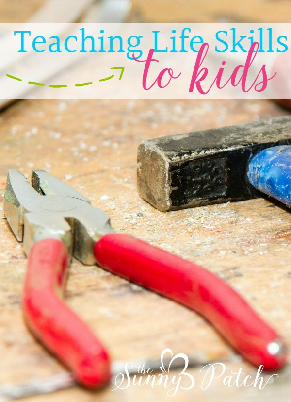 teaching life skills to kids - While math, Latin, and grammar top our list of daily subjects, I know it's also important to teach kids basic life skills and chores. Best of all, you don't really need a program or curriculum - it's very easy to just incorporate it into your everyday life.