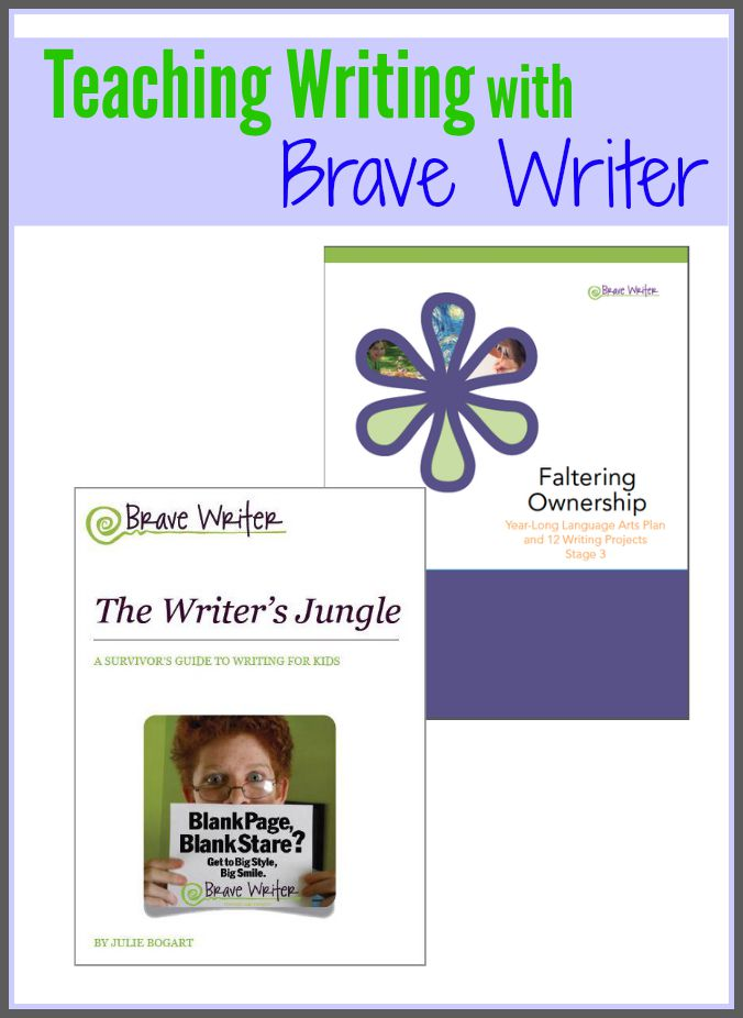 Want to learn more about teaching writing with Brave Writer? Take a look at how the program works and what we think of it. Creative writing can be easy!