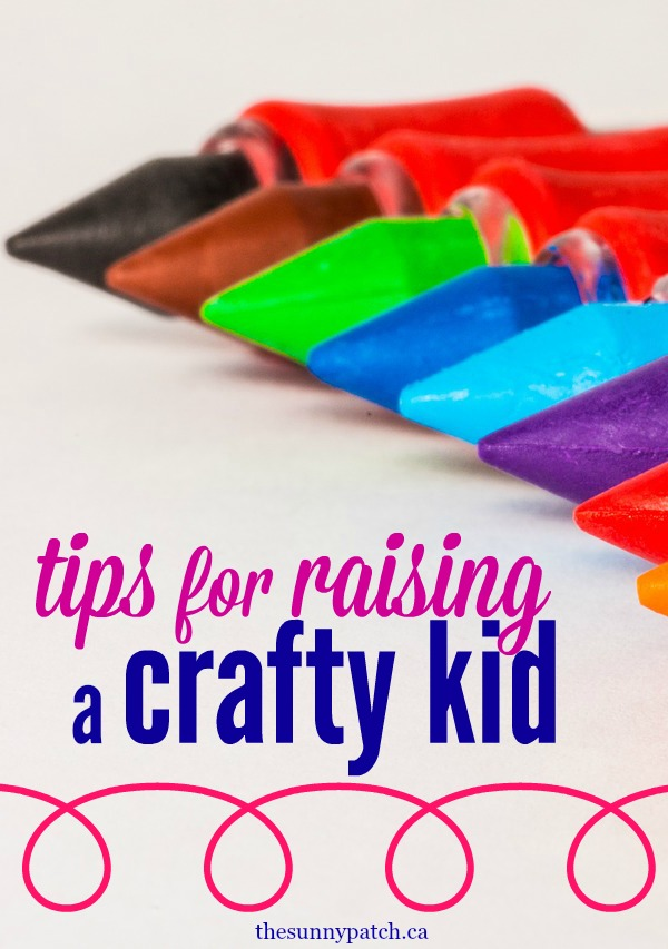 Have a kid that loves to do messy craft projects? Here are four tips for managing those messy craft projects for kids.