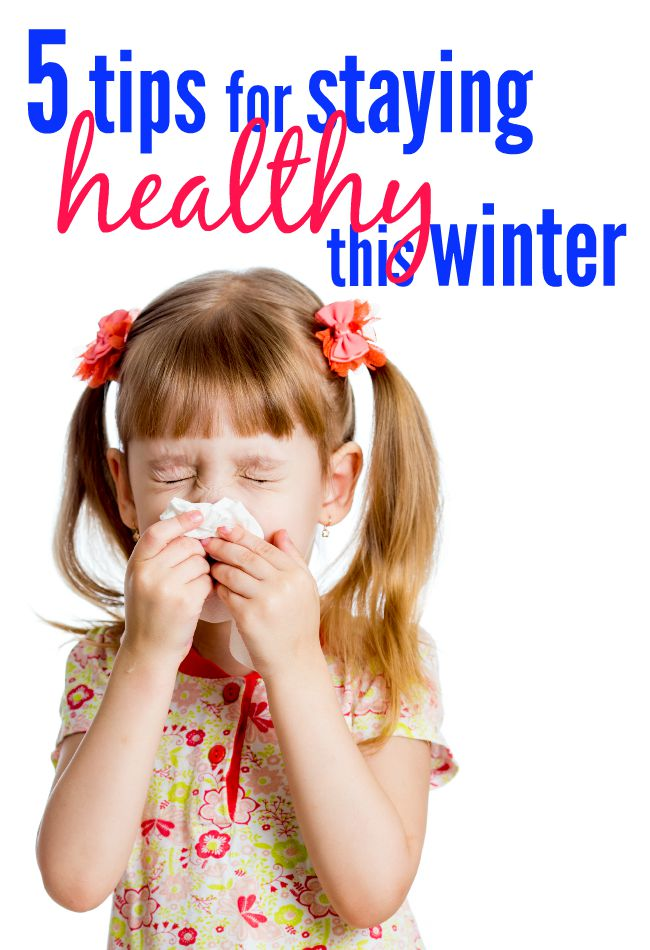Cold & flu season is one that everyone dreads. But these five simple things will help you and your family stay healthy during the winter months.