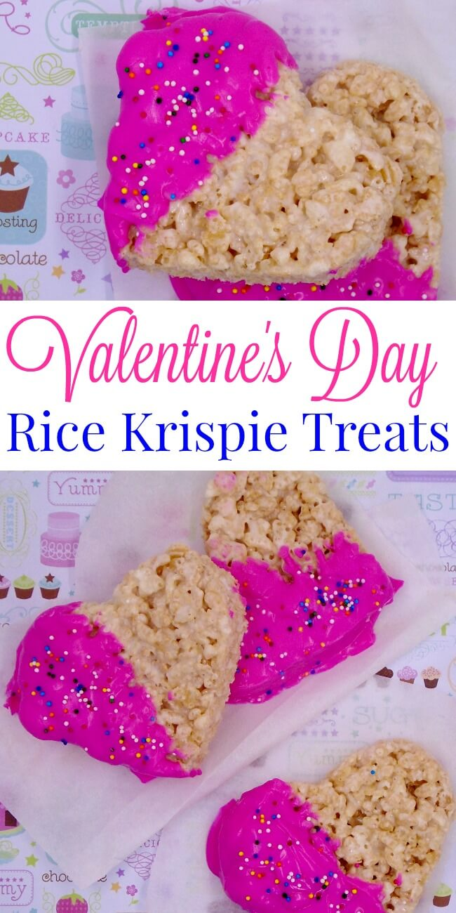 Rice Krispie treats are a perfect easy no bake recipe for kids. They're simple and versatile - perfect for holiday celebrations. Find out how to make these Valentine's Day Rice Krispie Treats - a perfect way to celebrate the holiday with your children.