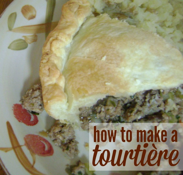 Tourtière (meat pie) is a traditional Canadian dish served during Christmas and New Years. Plus it's tasty and easy to make. Make it for dinner this holiday season.