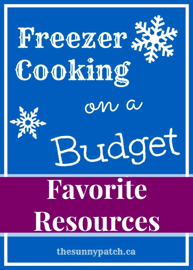Freezer Cooking on a Budget: Favorite Resources for filling the freezer.