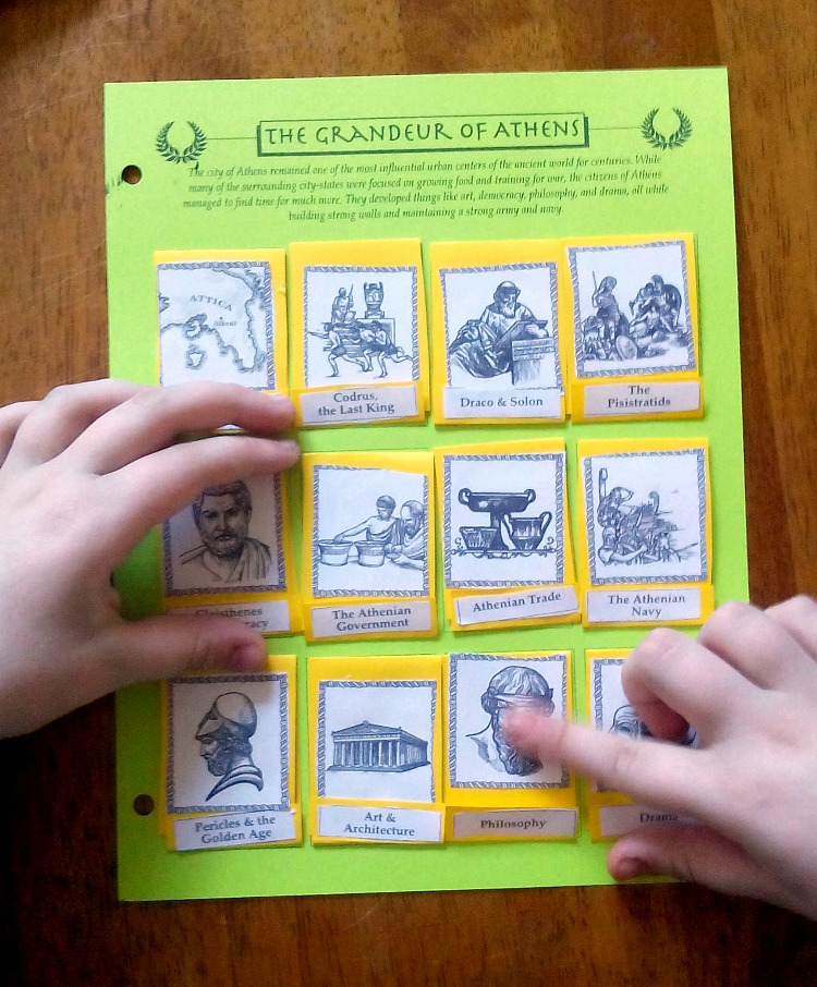 If you're looking for a fun hands-on history program look no further than Home School in the Woods. Their Project Passport series is perfect for studying world history. Take a look at one in the series - Project Passport: Ancient Greece.