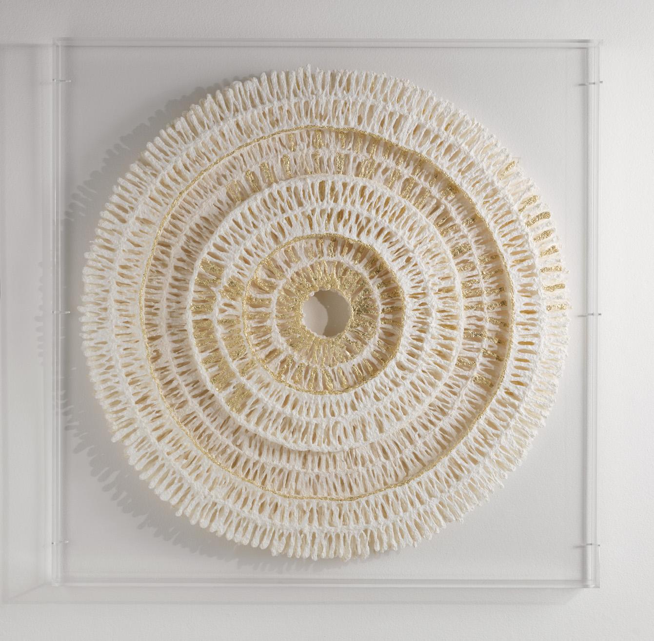 Circles   Medium   100cm x 100cm Plant Fibre