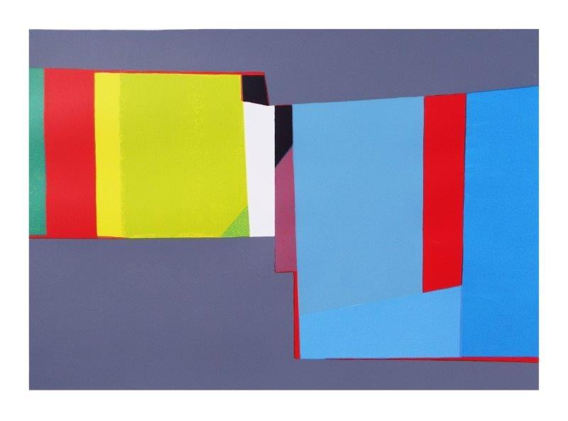 Dusk Vista | 76cm x 53cm Screenprint