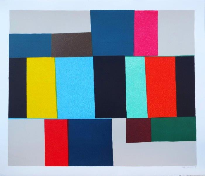 Hinterland | 76cm x 63cm Screenprint