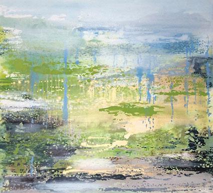Woodland 2 | 103cm x 113cm Oil on Canvas