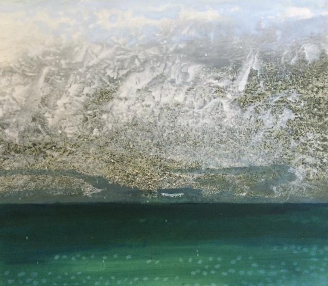 Sea Loch 2 | 103cm x 113cm Oil on Canvas
