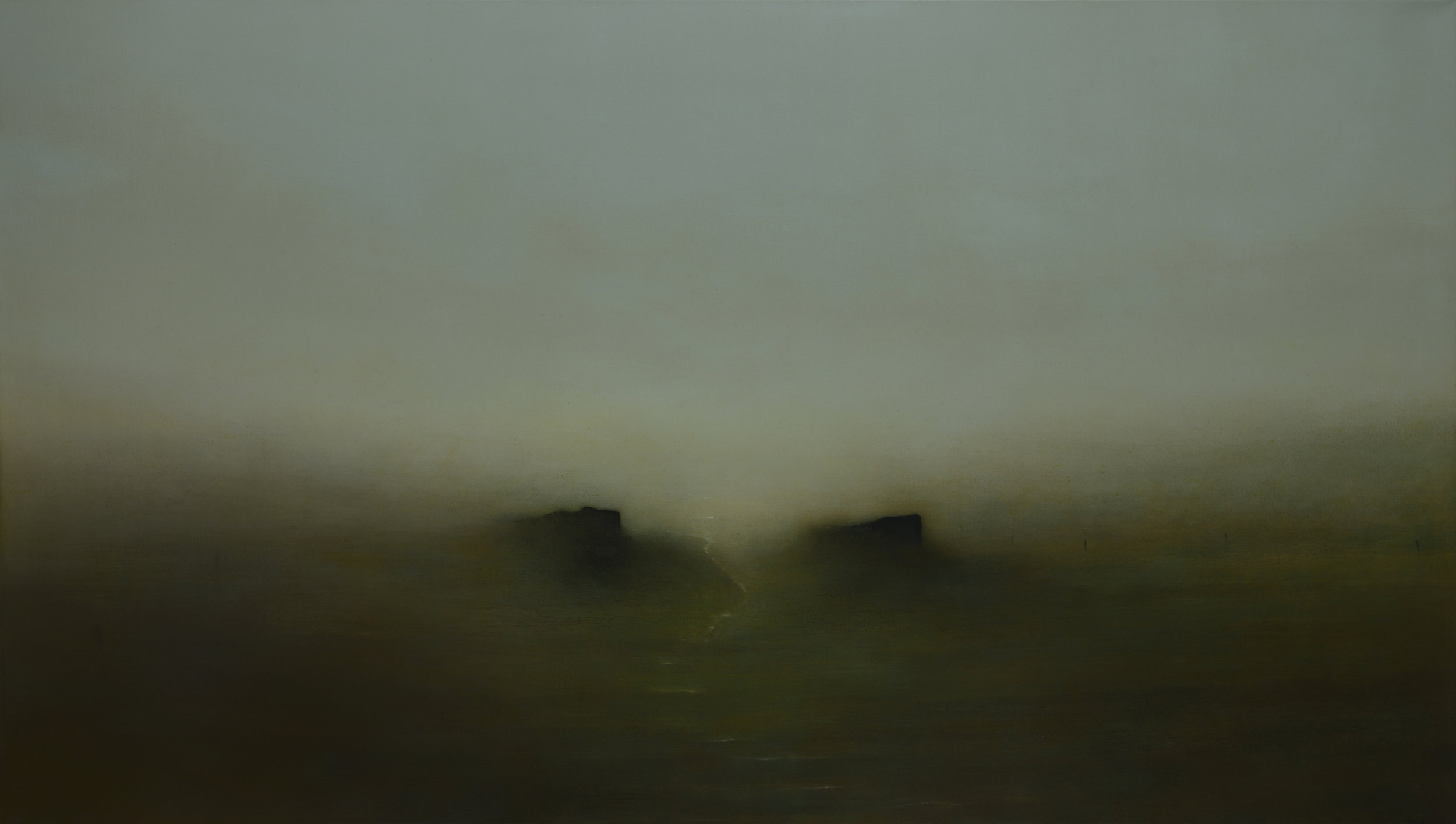 Forgotten Lands | 200cm x 115cm Oil on Canvas