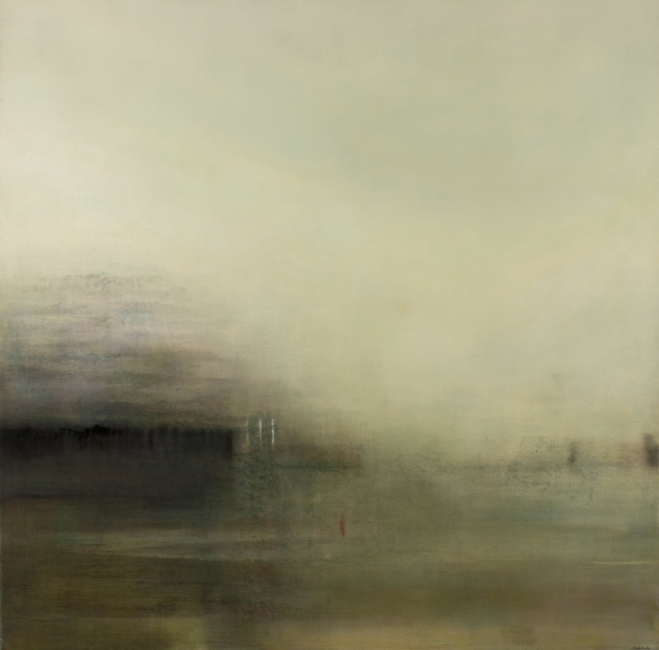 Land Reflections | 140cm x 140cm Oil on Canvas