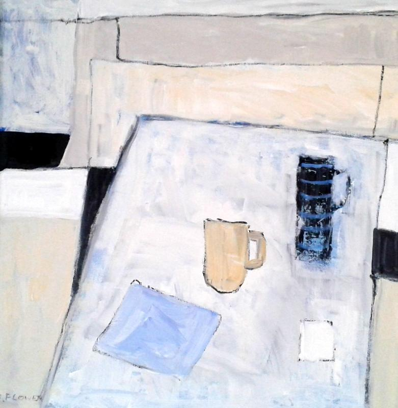 Sunday Morning | 64cm x 64cm Oil on Canvas