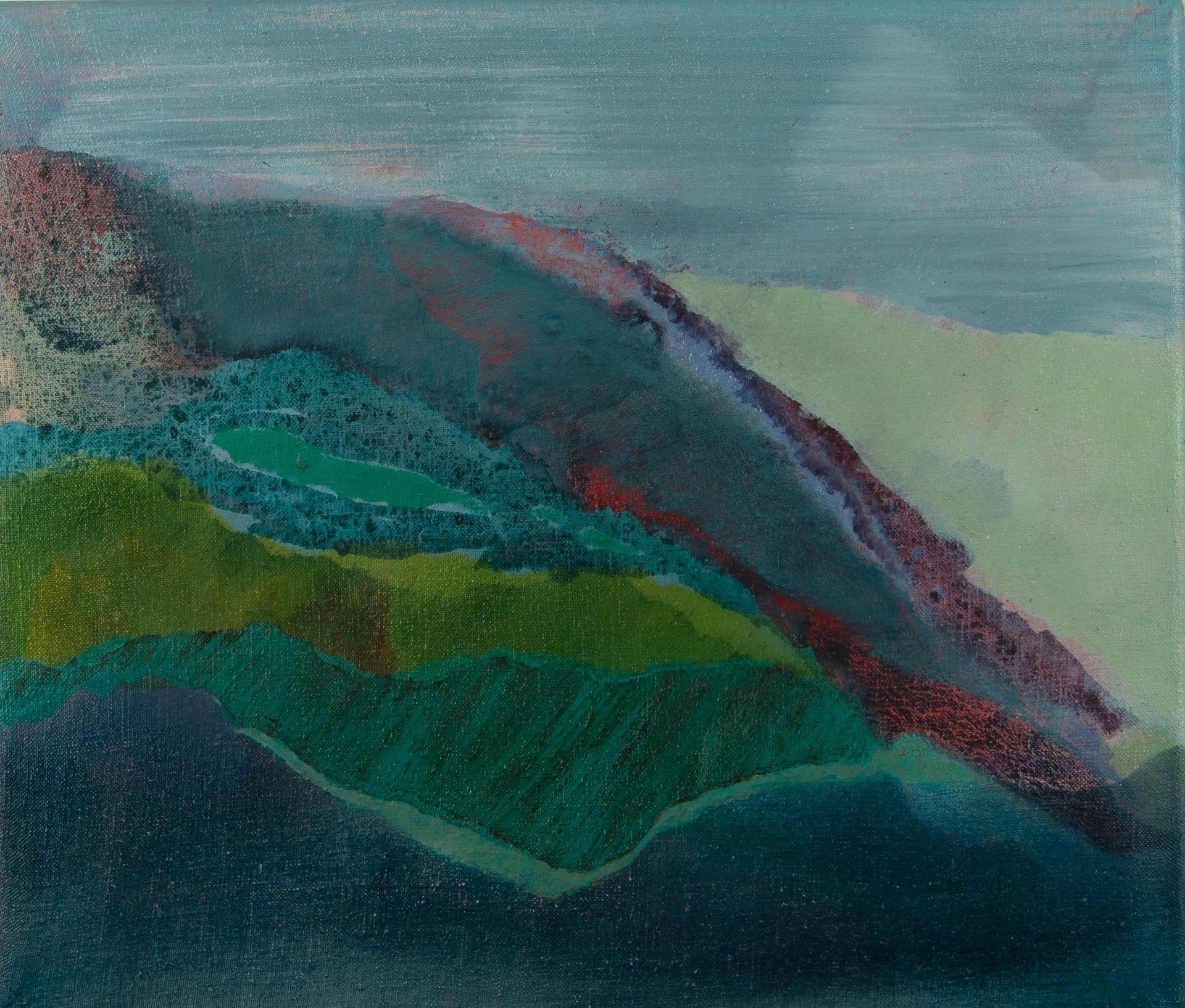 Cornish Fields   35cm x 30cm Oil on Linen