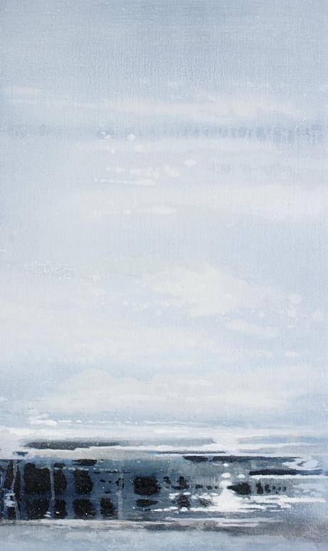 Evening Tide | 30cm x 50cm Oil on Linen