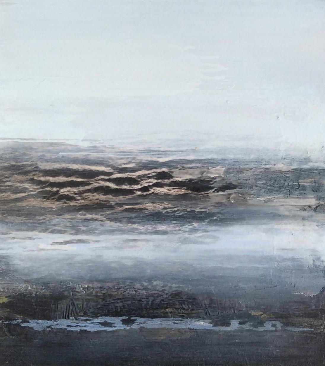 Tide Study | 48cm x 53cm Oil on Canvas