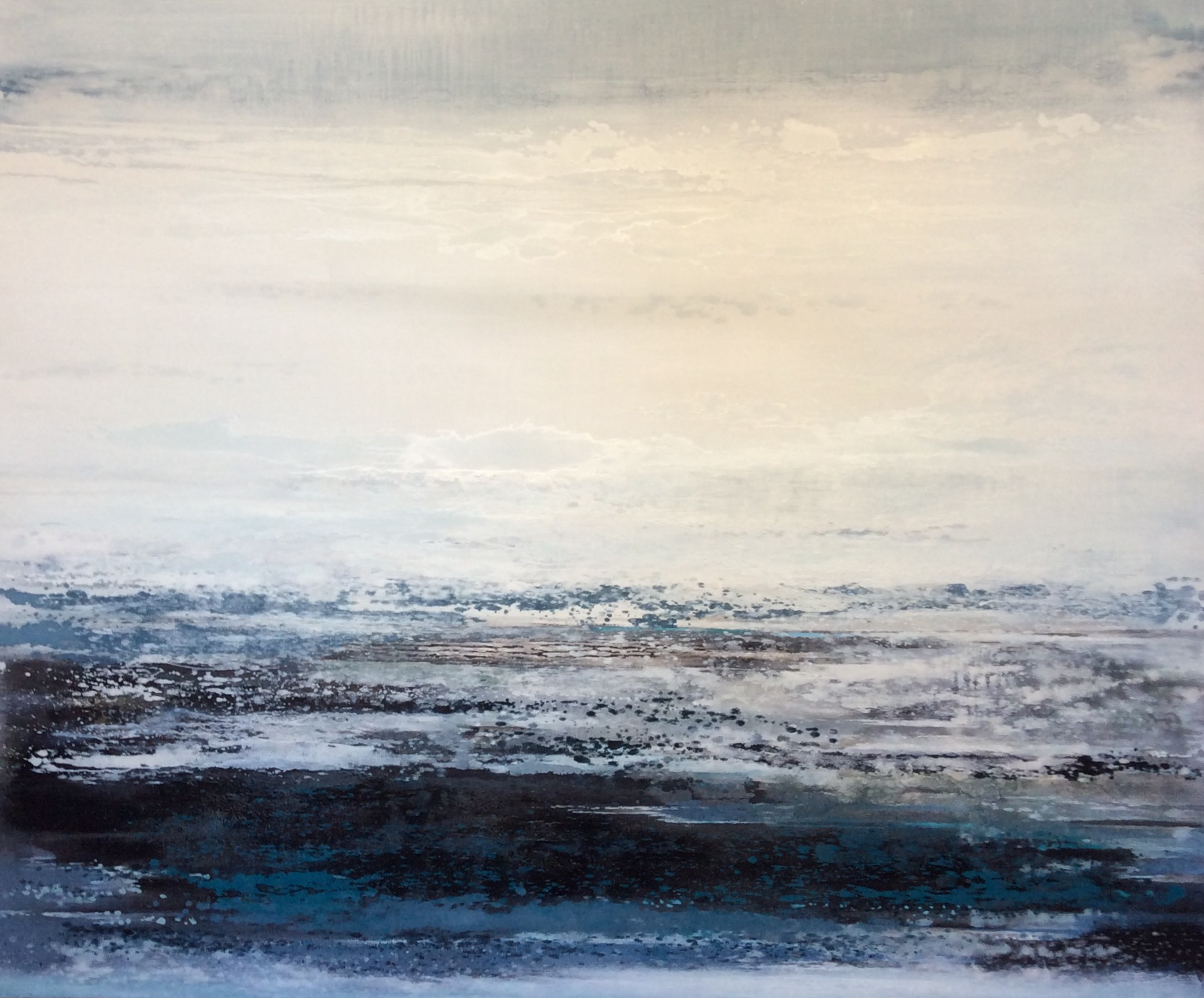Winter Lake | 187cm x 157cm Oil on Canvas