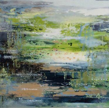 Enchanted Woodland | 113cm x 103cm Oil on Canvas