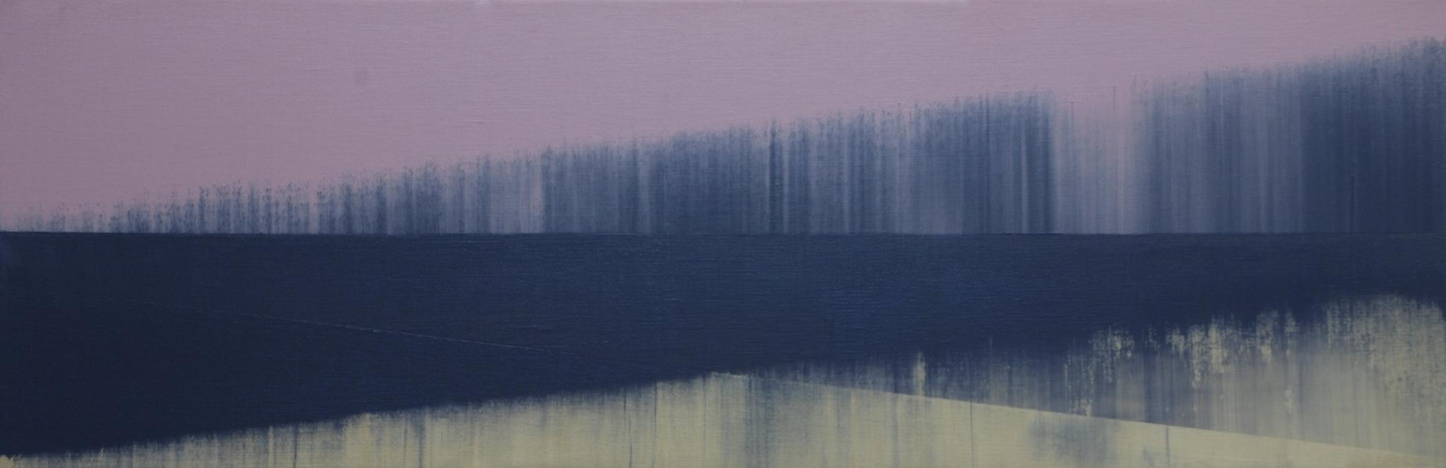 Parallel Terrain  | 75cm x 25cm Oil on Canvas