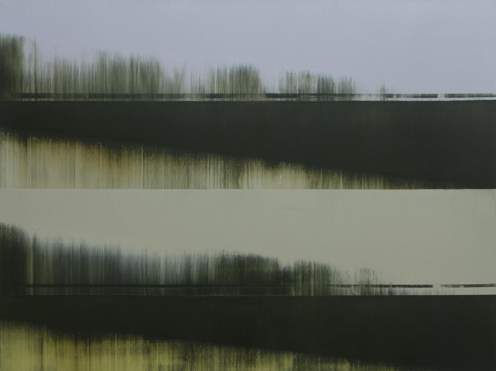 Parallel Terrain iv  |  80cm x 60cm Oil on Canvas