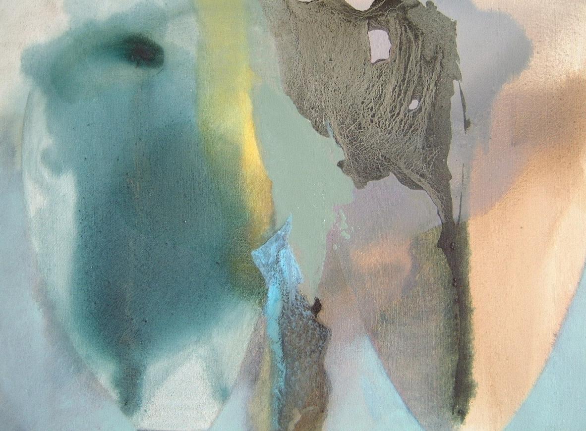 Fragment Memories   100cm x 83cm Oil on Canvas