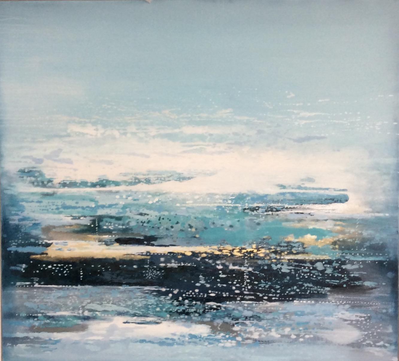 Atlantic Tide | 123cm x 113cm Oil on Canvas