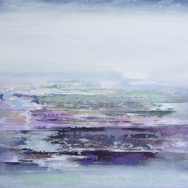 Coastal Path Dell | 103cm x 98cm Oil on Canvas