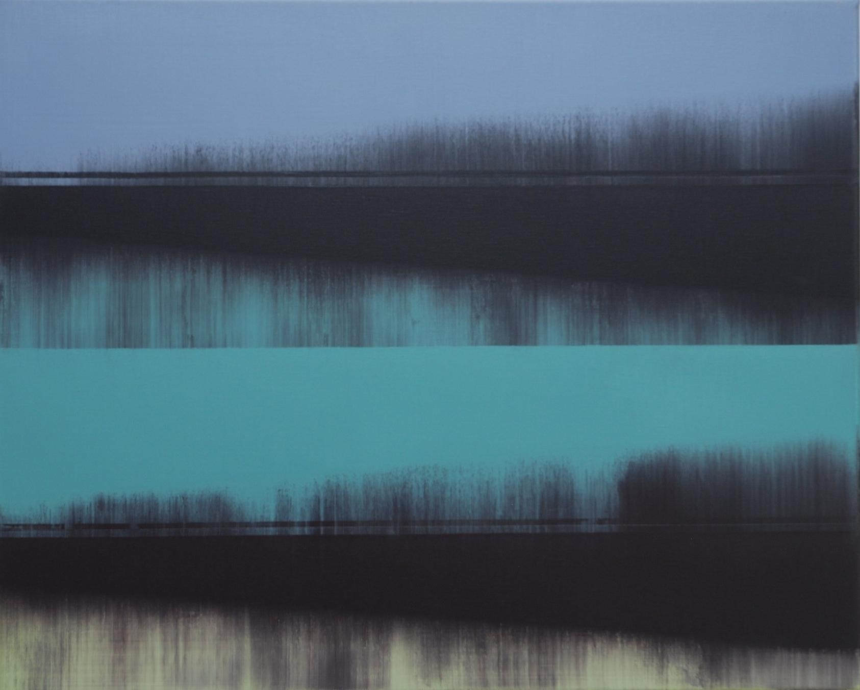Parallel Terrain xiii   | 80cm x 60cm Oil on Canvas