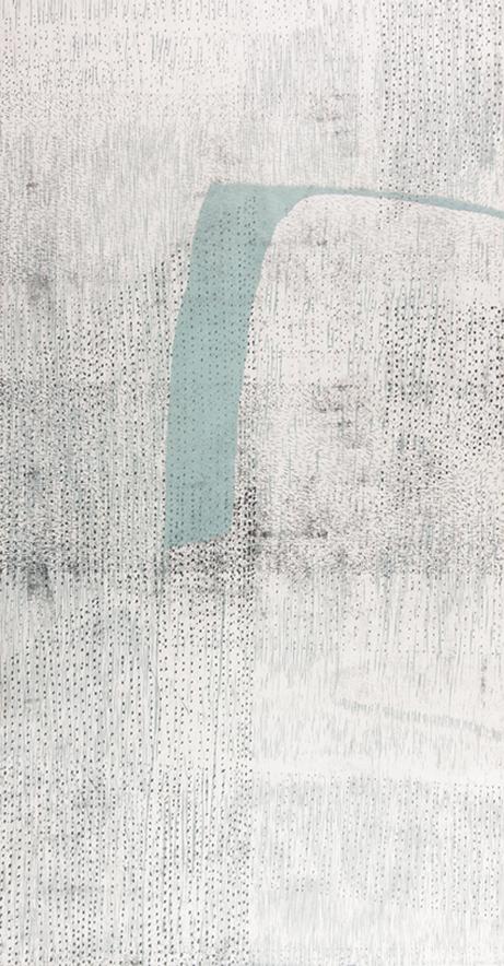 Surround 2 | 60cm x 107cm Etching & Woodcut