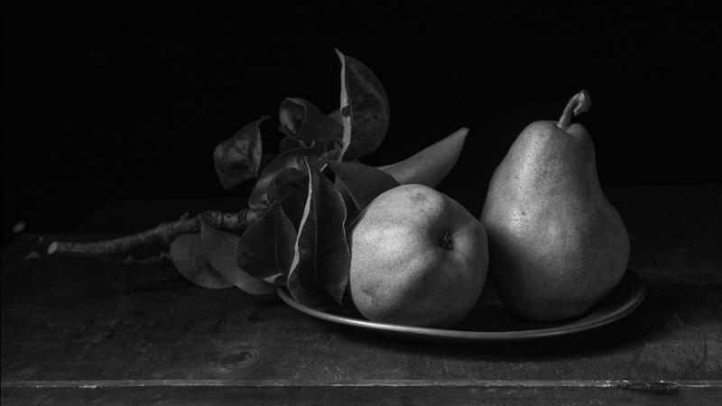 Pears on a plate 2015.jpg