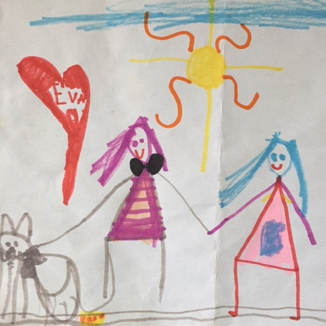 Drawing courtesy of Willa Johnson The Younger.