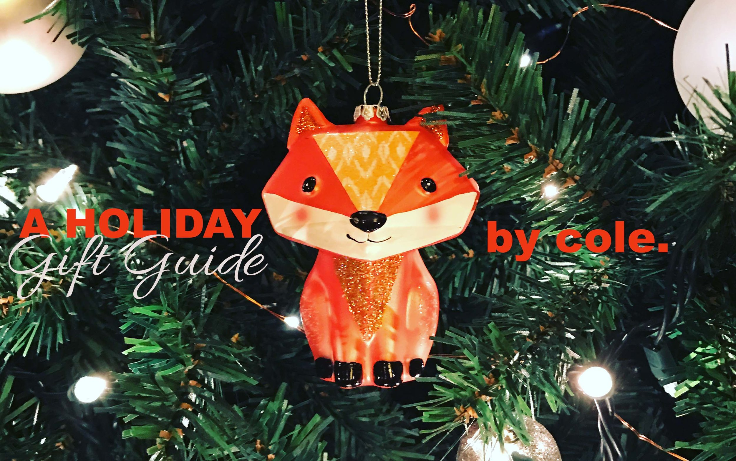 This adorable fox ornament was given to me by my friend and neighbor, Jenny.