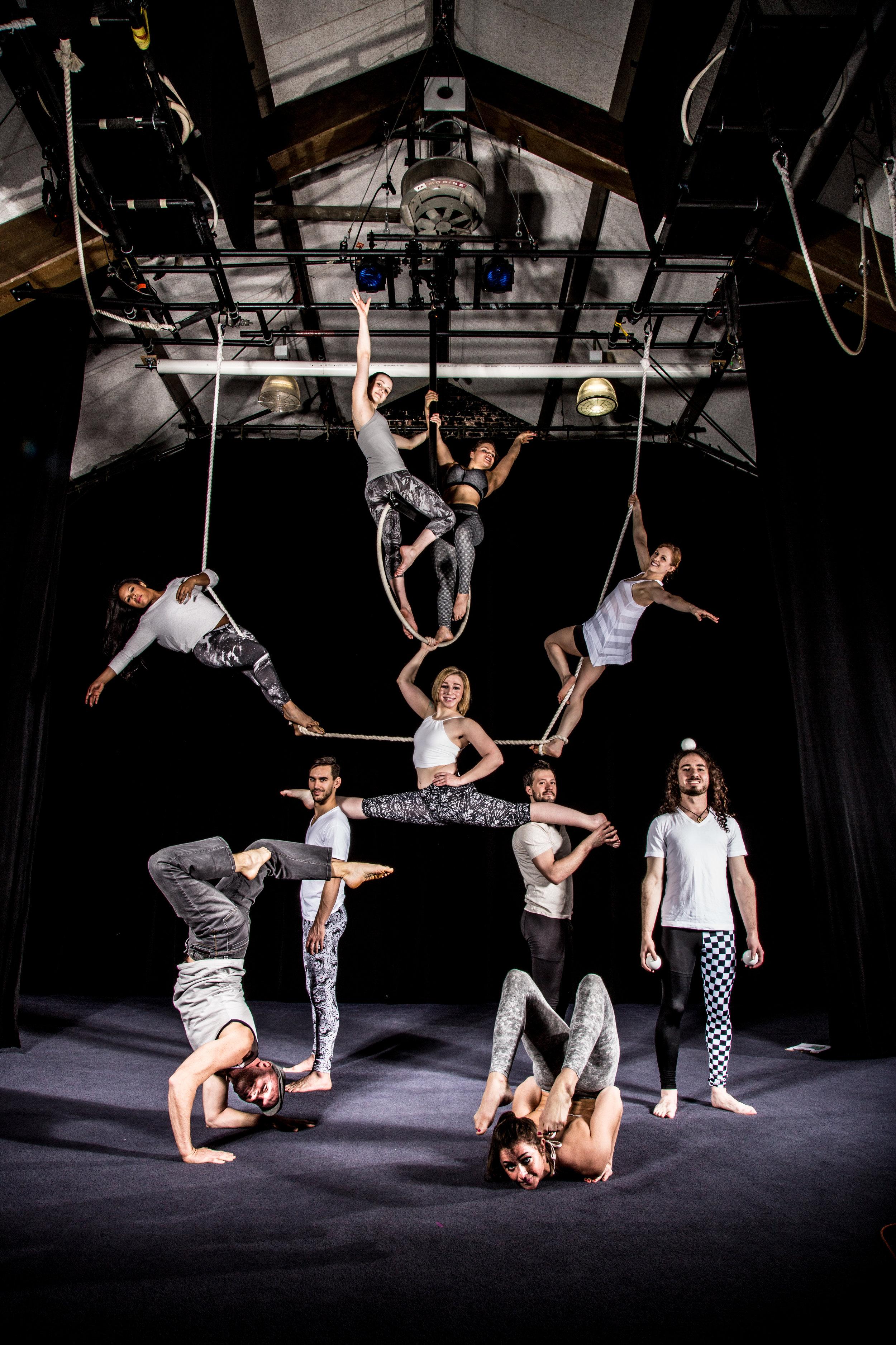 2016 Actors Gymnasium Professional Circus Program Photo courtesy of Cole Simon