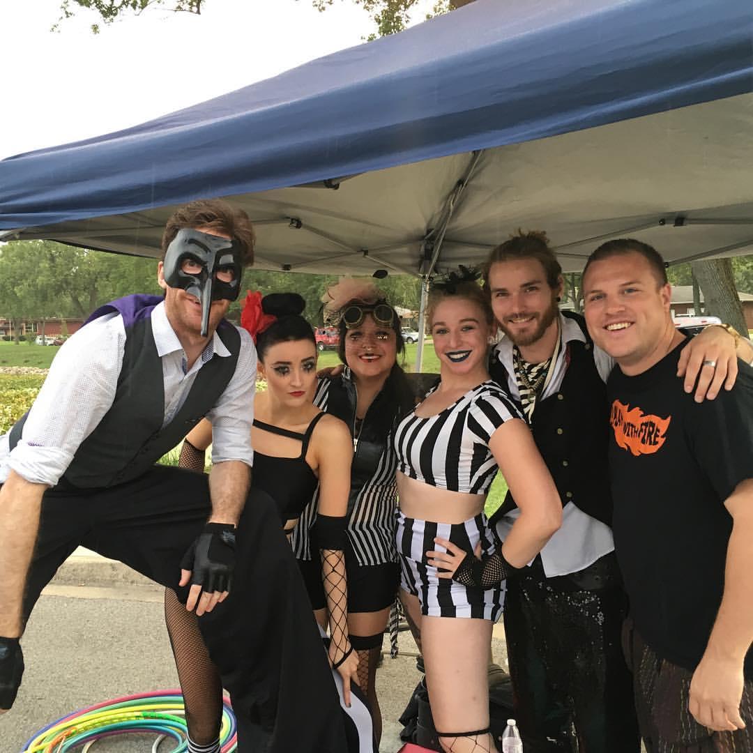 Hobart Indiana Festival Roaming Performers