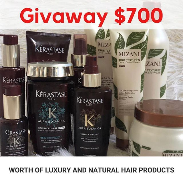 Today is the last day for this giveaway. Don't miss the last chance to win these amazing natural products ❤️ ****** To enter the giveaway ****** 1.  Follow @hairdotcom 2.  Like the last video I posted on my page  3.  Comment on the video with hashtag #sweepstakes why you want to win **************** شروط المسابقة ١. تابع حساب @hairdotcom  ٢. سوي لايك لآخر فديو بصفحتي  ٣. اترك تعليق على الفديو واكتب بي ليش تتمنى ان تربح مع هاشتاك  #sweepstakes ************* Here's a direct link to the complete rules https://www.hair.com/trending/news/hair-sweepstakes This giveaway is open only to legal residents of the US.  المسابقة حصريه للناس الي عايشين بالولايات المتحدة الأمريكية.  #Hairdotcom #Sponsored