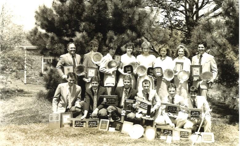1987 Judging Team