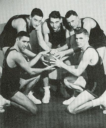 Starting 5 Regional Champs 1951-1952